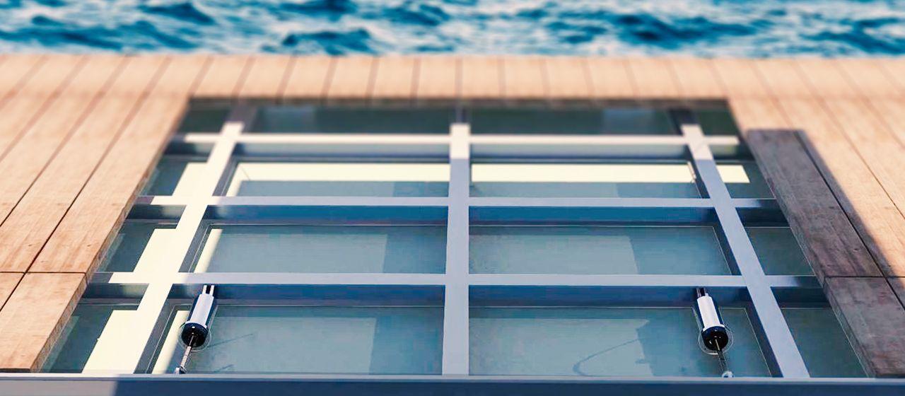 Seares Seadamp Custom integrazione pontili frangiflutti smorzatore nautico